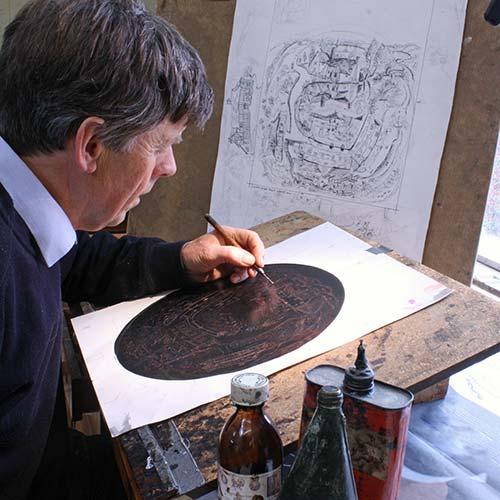 Glynn Thomas etching