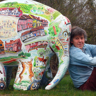 Glynn's puzzle Elmer goes on display